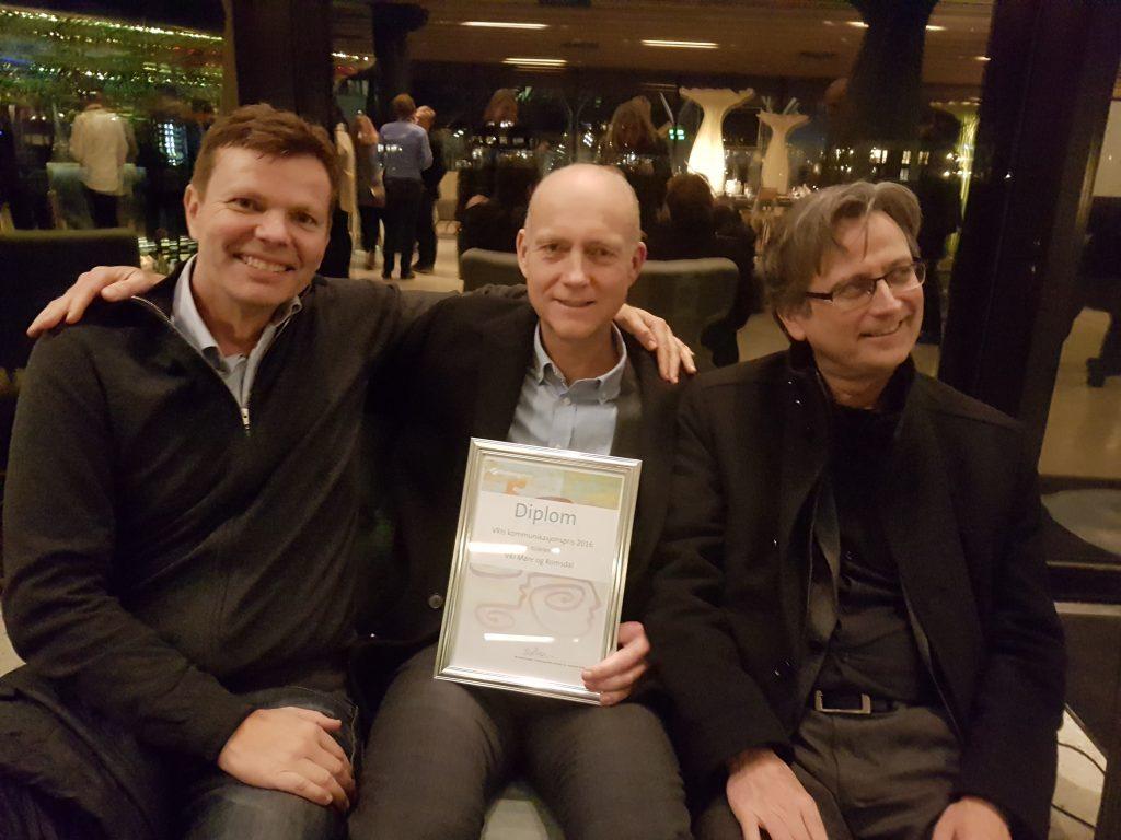 Fra venstre Bjørn Tafjord, Øyvind Herse og Arthur Almestad